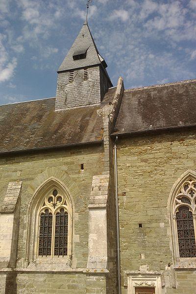 Église de fr:Sainte-Suzanne-sur-Vire