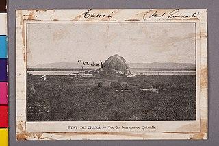 État du Ceará - Vue des Barrages de Quixadá