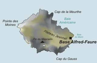 Île de la Possession island in the Crozet archipelago