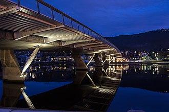 Drammen - Øvre sund bridge