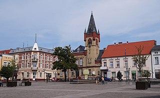 Świecie Place in Kuyavian-Pomeranian Voivodeship, Poland