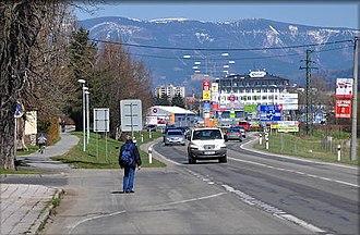 Šumperk - Šumperk slip road