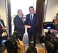 Πραγματοποιηθείσα συνάντηση του Νίκου Ξυδάκη, με τον Ömer Çelik (ΥΠΕΞ, 03.11.2016) (30122889893).jpg