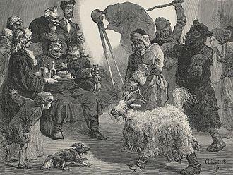 Malanka - Goat guiding
