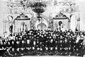 Андроник (Никольский) и Феофан (Ильминский) Пермские на празднике в Белогорской обтители 1917-1918.jpg