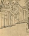 Архитектурне обличчя Полтави. 1919. № 9. Ворота і кольонада ґубернаторського дому.png