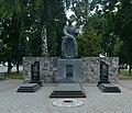 Братська могила радянських воїнів та індивідуальні могили Героїв Радянського Союзу М. І. Варчука і Г. М. Прокопенка 59-107-0004.jpg