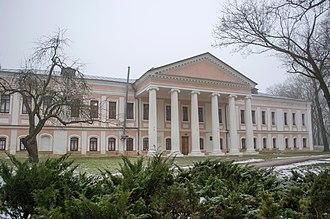 Chernihiv - Archbishop's residence in Chernihiv