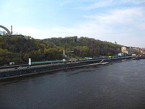 Kiev Mountains - Volodymyr Hill over Dnieper.