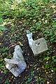 Жабелівка, Братська могила 20 радянських воїнів загиблих при звільненні села (уламки монумента).jpg