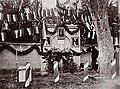Кутузовский фонтан, декорированный к празднованию юбилея Дома Романовых, 1913 год.jpg