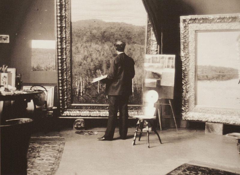 Мастерская И. Левитана. 1890-е.06.JPG