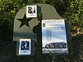 Место боя бронепоезда № 1 За Сталина с гитлеровцами (сам знак).jpg