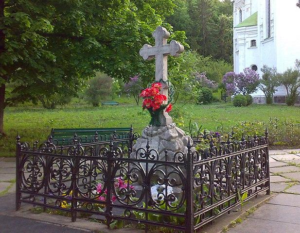Могила Константина Ушинского