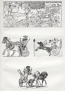 Рисунки к статье «Военные колесницы». Военная энциклопедия Сытина (Санкт-Петербург, 1911-1915).jpg