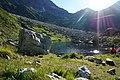 Россия. Карачаево - Черкесия. Горное озеро у подножия горы Кара-Джаш.jpg