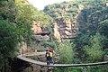 丹分沟里的吊桥 - panoramio.jpg