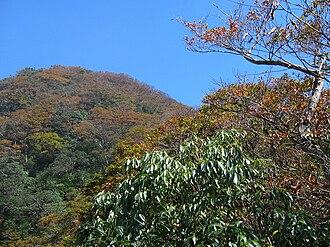 Xueshan Range - Beichatianshan (北插天山), a peak of Xueshan Range.