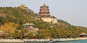 Beijing - Longevity Hill in Beijing where Kublai Khan wrote his poem.