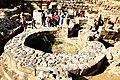 0007אחד משני בסיסי שער הכניסה לעיר טבריוס שבנה אנטיוכוס אגריפס כמחווה לקיסר טבריוס 2012.jpg