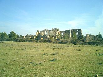 Jerónimo Girón-Moctezuma, Marquis de las Amarillas - Ruins of Santa-Maria-del-Roure