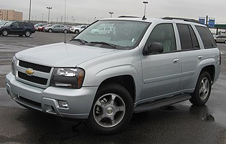 Chevrolet TrailBlazer - 2006–2008 Chevrolet TrailBlazer LT