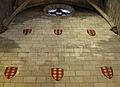 095 Santa Maria de Pedralbes, capella amb escuts dels Montcada.jpg