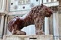 0 Venise, lions en marbre de la Piazzetta dei Leoncini (2).JPG
