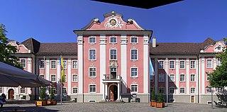 Neues Schloss (Meersburg) building in Meersburg, Tübingen Government Region, Bade-Württemberg, Germany