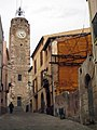 125 C. de l'Església i torre del Rellotge (Olesa).jpg