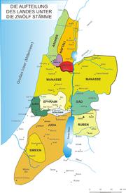 12 staemme israels