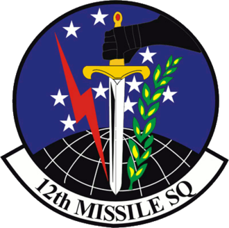12th Missile Squadron - Image: 12th Missile Squadron