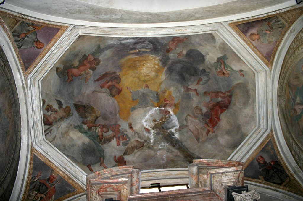 File:1505 - Milano S. Maria Immacolata - Soffitto 2a cappella a sinistra - Foto G. Dall'Orto, 24 ...
