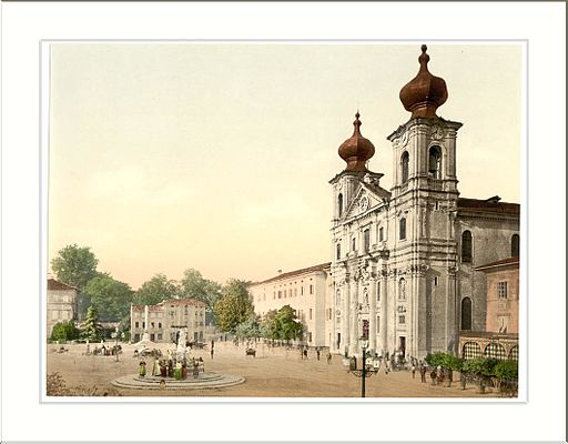 1592 Gorizia the cathedral I 1890