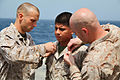 15th MEU March 1 promotions on USS Rushmore 130301-M-VZ265-025.jpg