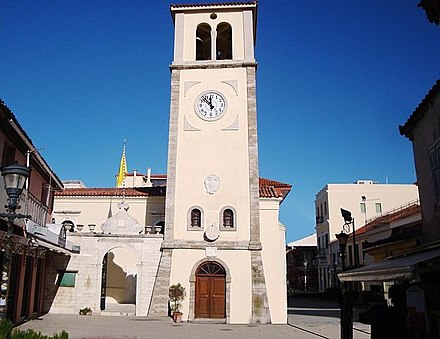 The Venetian clock tower of the city 1750 Preveza The Venetian Clock.jpg