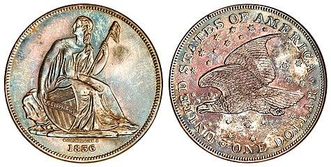 Seated Liberty Dollar Wikipedia