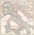 1859 Smith Folding Case Map of Italy and Switzerland - Geographicus - Italy-smith-1859.jpg