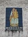186 Mare de Déu del Sòl del Pont (Roda de Ter), plafó de rajoles vora el Pont Vell.jpg