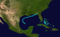 1875 Atlantic tropical storm 4 track.png