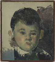 1880, Cézanne, Portrait of Paul, the Artist's Son.jpg