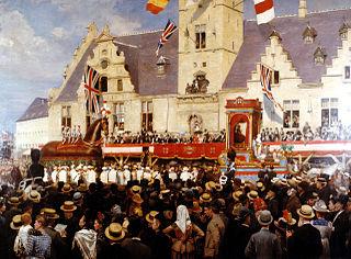 JAN VERHAS ( 1834-1896) 320px-1888_Polydore_de_Keyser_-_Dendermonde_-_Belgium