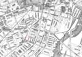 1898 Odd Fellows Hall map Boston byWalker BPL 12578 detail.png