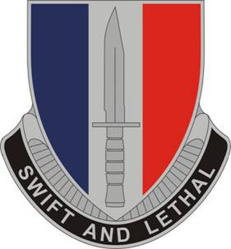 189th Infantry Brigade (United States) - Image: 189Infantry Bde DUI