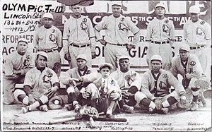 Lincoln Giants - The 1912 Lincoln Giants