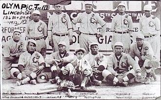 John Henry Lloyd - The 1912 Lincoln Giants