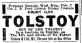 1917 Tolstoy TremontTemple BostonGlobe Feb3.png