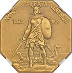 1925 Medal Norse Gold commemorative (obverse).jpg