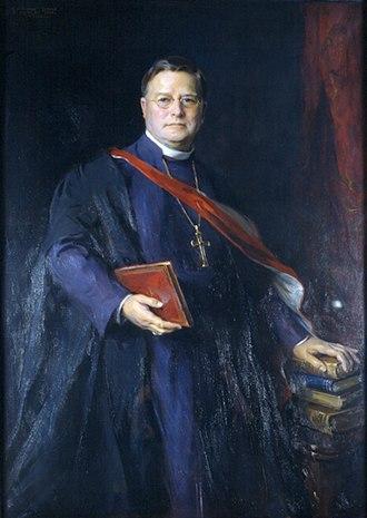 William Temple (bishop) - Portrait by Philip de László