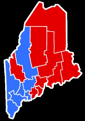 Maine gubernatorial election, 1958 - Image: 1958Maine Gubernatorial